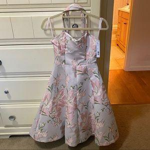 Women's Gianni Bini A-line Floral Dress Brand New